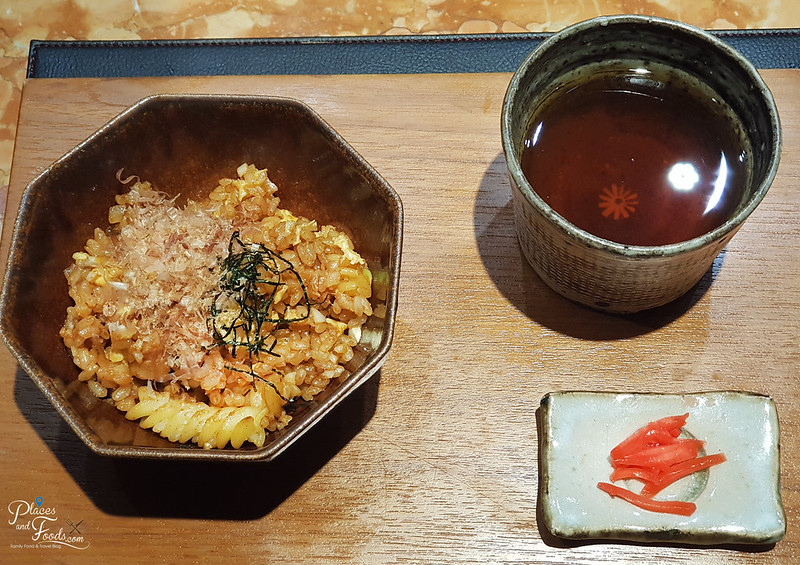 teppan by chef yonemura garlic rice pasta