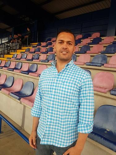 Francis Montoya, entrenador del At. Dos Hermanas