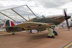 G-HUPW (R4118) Hawker Hurricane Mk 1 Royal Air Force Colours RAF Fairf