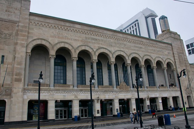 Boardwalk Hall Atlantic City NJ Retro Roadamp