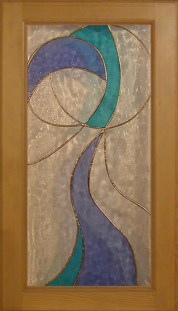 vitráž do nábytkových dvířek ND 018 10