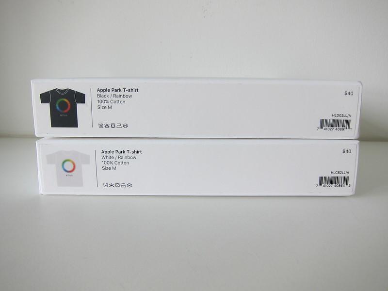Apple Park T-Shirts - Box Bottom