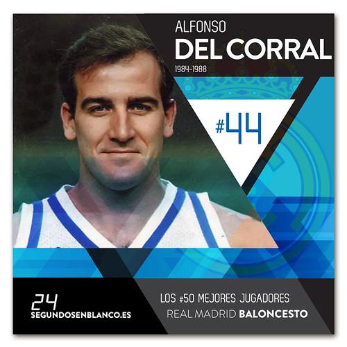 #44 ALFONSO DEL CORRAL