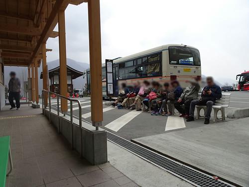 バスの行列