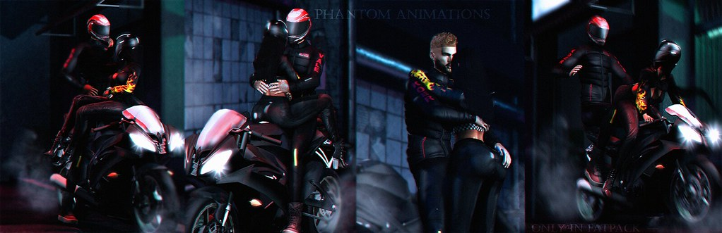 [Phantom Animations] - Sport Biker Style Series Couples - TeleportHub.com Live!