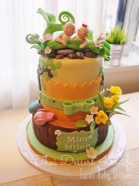 Cake by Thaidessert4life & Custom Cake