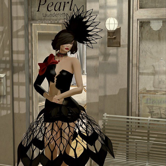 Fellini Couture-Kiss me gown for NEO