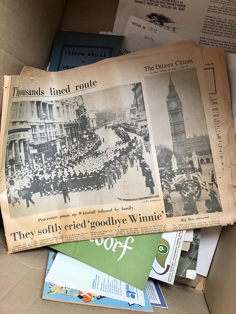 The Estate Sale: The Jan 30 edition of the Ottawa Citizen