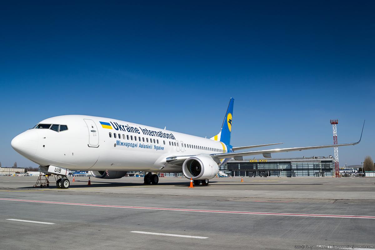 Самый новый Boeing 737-800 во флоте МАУ