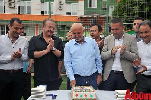 Aytemiz Alanyaspor Kulüp Başkanı Hasan Çavuşoğlu doğum günü
