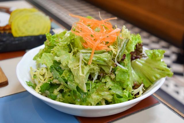 Japanese Salad at Yashin Ocean House, Kensington #sushi #london #kensington
