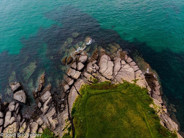 La ballena de Sonabia a vista de dron