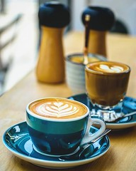 One more day before the #weekend Leisurely #brunch and #flatwhite sipping are in order. Let's power through today people! . In shot: Flat white and #cortado @storycoffeeldn :thumbsup: . . #breakfast #coffee #igfood #foodgram  #buzzfeast #f52grams #feedfee