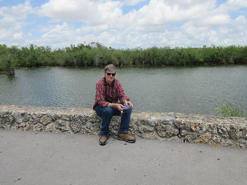 Russ on the Anhinga Trail