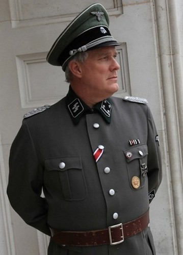 SS SD Security Service Sicherheitsdienst Officer for TV reconstruction.
