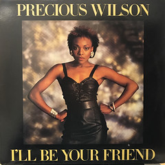 PRECIOUS WILSON:I'LL BE YOUR FRIEND(JACKET A)