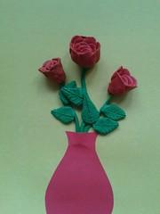 Линёва Анастасия (рук. Шиляева Вера Анатольевна) - Розы в горшочке