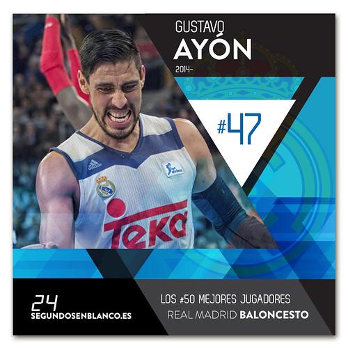 #47 GUSTAVO AYÓN