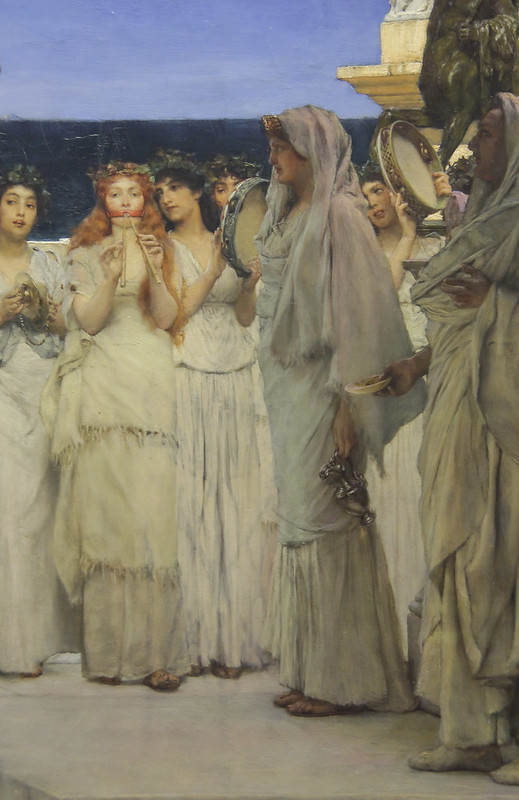 Detail - The Dedication to bacchus, Lawrence Alma-Tadema, 1889