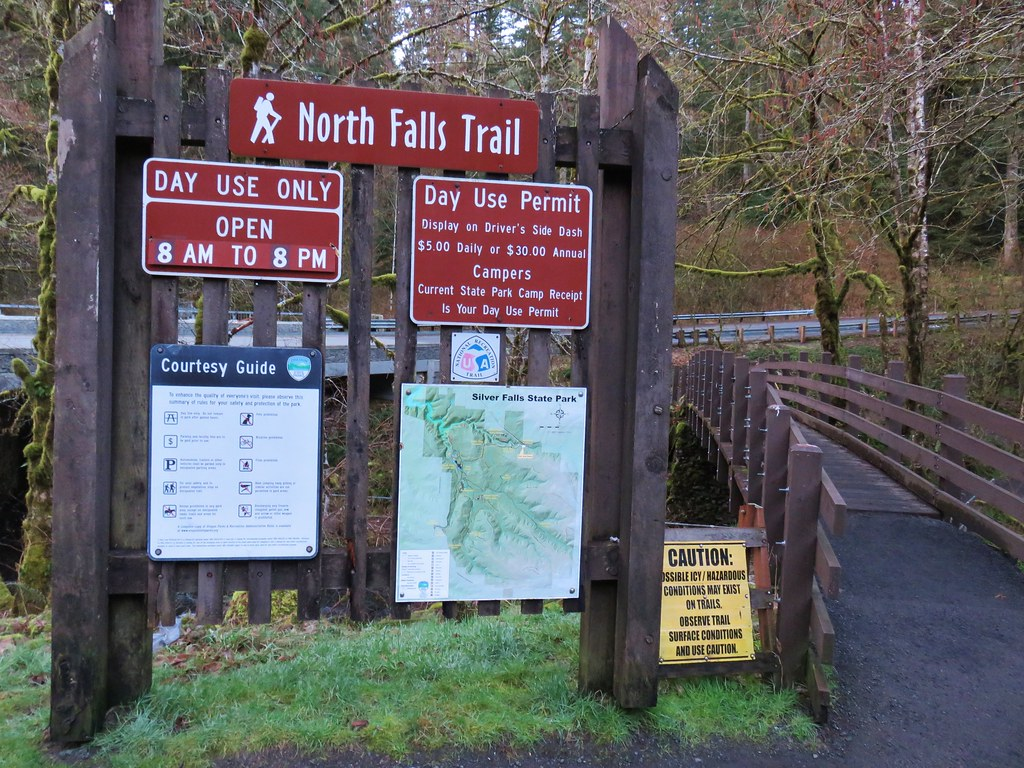North Falls Trailhead