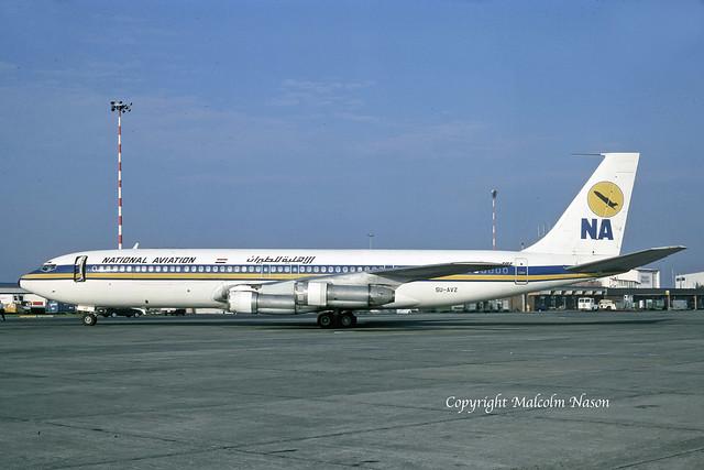 BOEING 707-366C SU-AVZ NATIONAL AVIATION