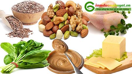 Thay đổi chế độ ăn uống rất quan trọng trong việc giảm glucose máu