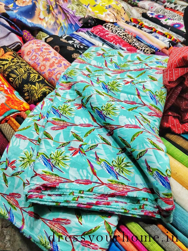 Where to shop for fabric in Chennai