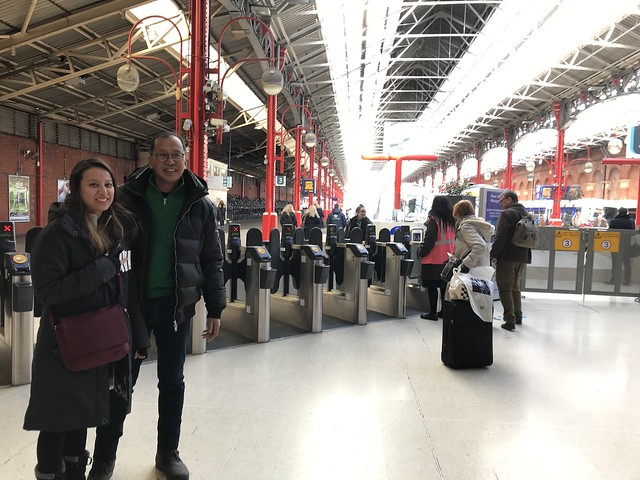 Train station to Bicester Village,  March 20, 2018