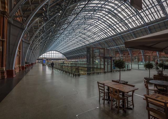 St Pacras Station, London
