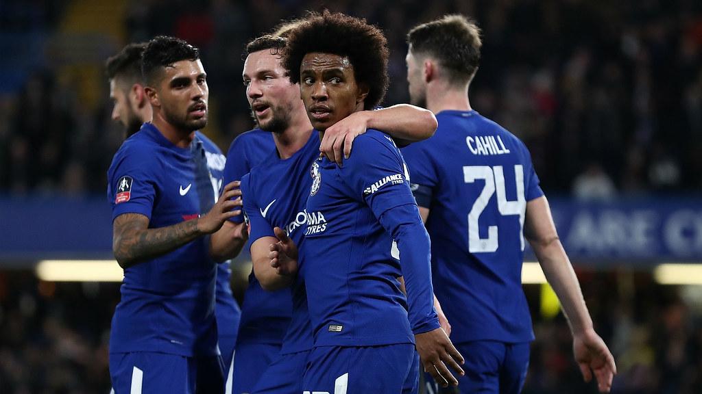 Willian: Juara Piala FA Takkan Dapat Selamatkan Musim Chelsea