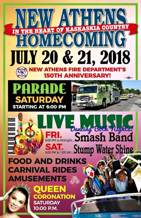 New Athens Homecoming 7-20, 7-21-18