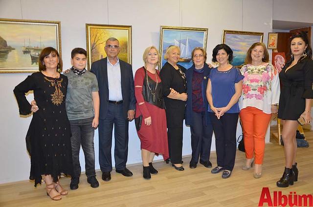 Alanya Sanatçılar Derneği üyeleri