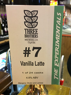 Three Brothers, The Experimentals #7 Vanilla Latte, England