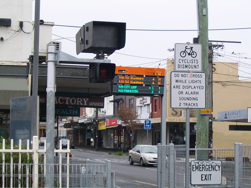 Bentleigh Station Smartbus signage, June 2008