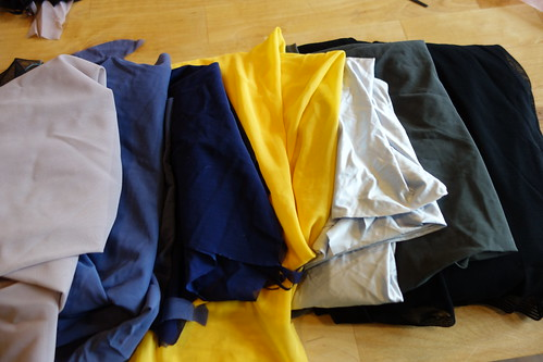 Fabrics colours
