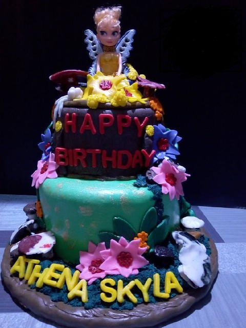 Skyla's Fairy Cake by Jennica Queen M. Tañada and Cristy M. Tañada of Tsokolate Kwin