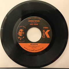 JAMES BROWN:LOWDOWN POPCORN(RECORD SIDE-A)
