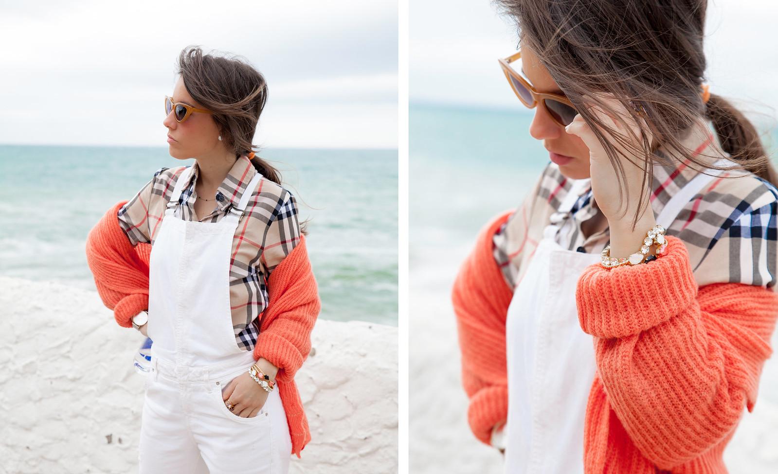 03_Burberry_Outfit_White_overall_Combinar_peto_con_tacones_mas34_theguestgirl_influencer_barcelona