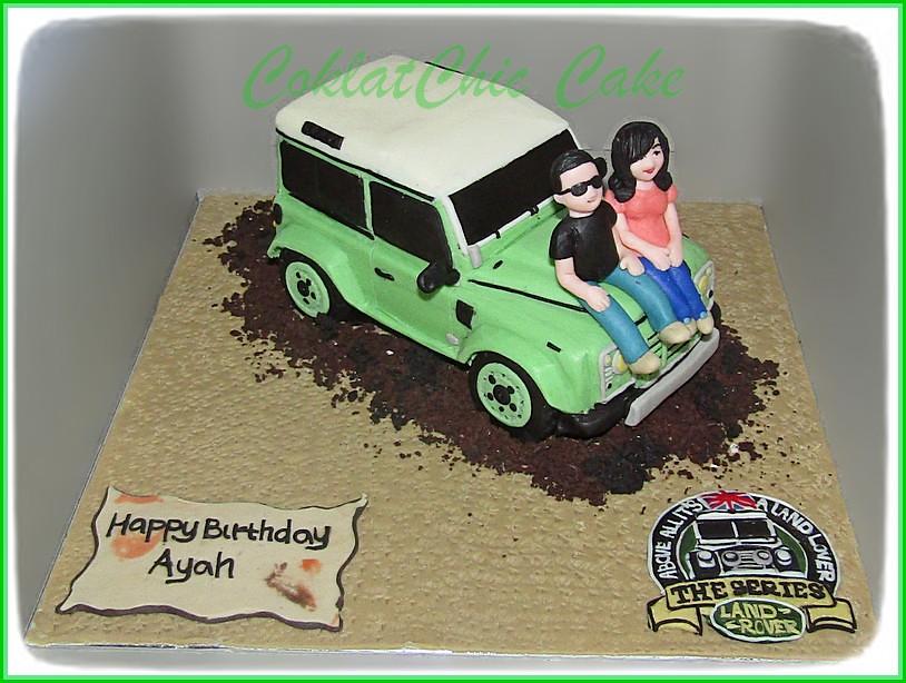 Cake Land Rover AYAH 15 cm