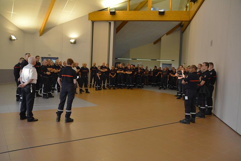 Journée départementale et métropolitaine des sapeurs-pompiers - 2018