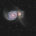 M51 The Whirlpool Galaxy HaLRGB #Explored by Peter Goodhew