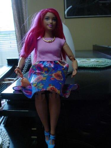 random barbie outfit