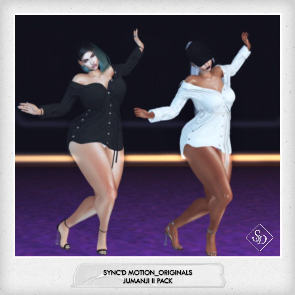 Sync'D Motion__Originals - Jumanji II Pack