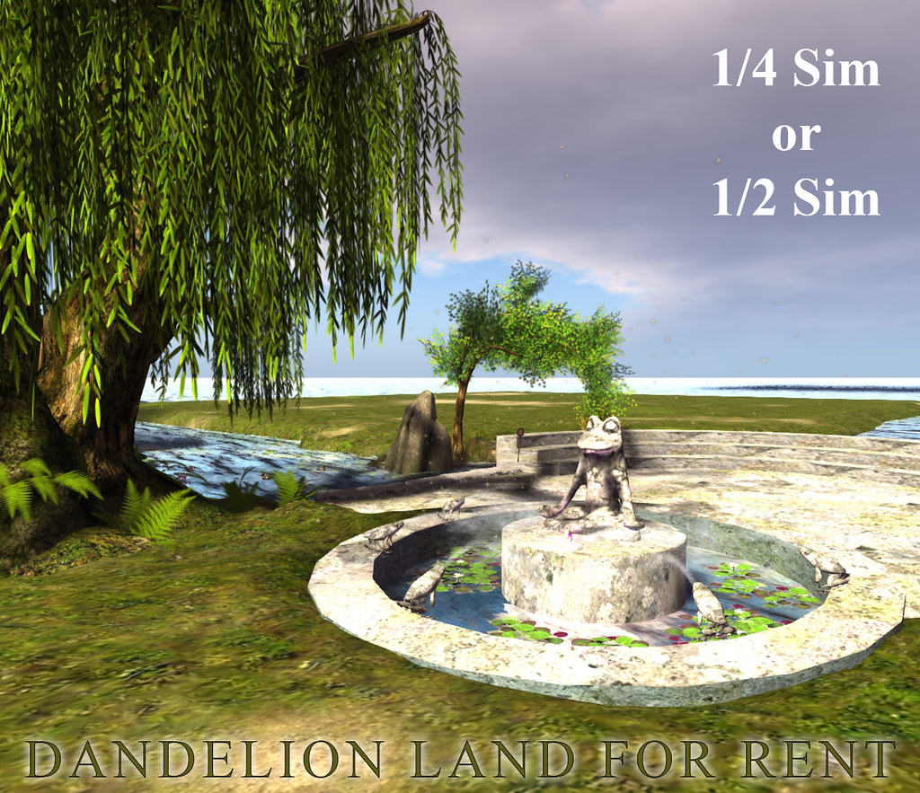 """Dandelion"" land FOR RENT - TeleportHub.com Live!"