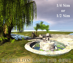 """""""Dandelion"""" land FOR RENT"""