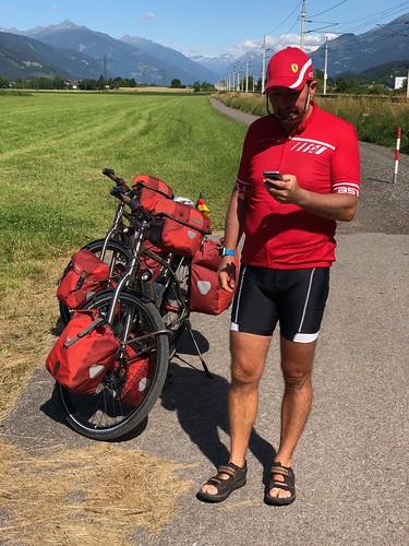 Toni vom Team Ferrari
