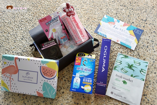 butybox 美妝盒 6月號 小資女美妝產品 (3).JPG