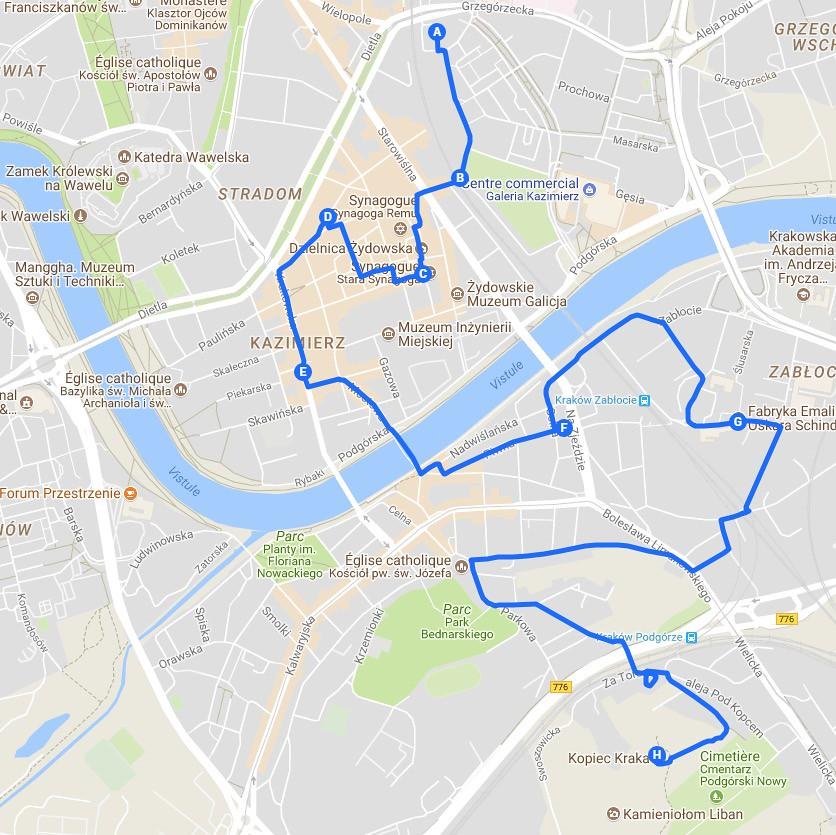 > Itinéraire à Cracovie : Jour 1, la visite de la Vieille Ville.