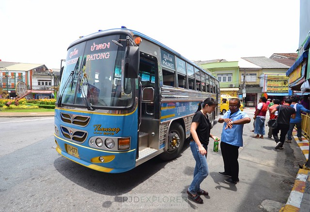 phuket krabi itinerary bus to phuket old town