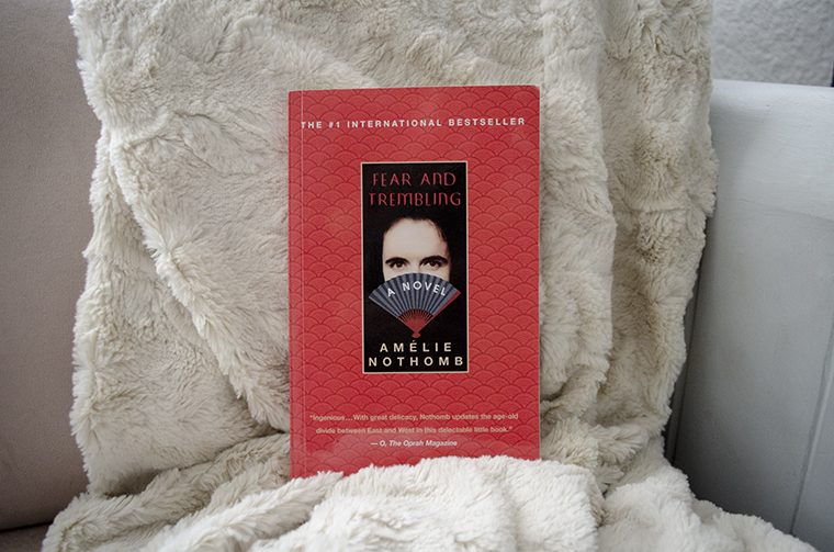 Book Club #31 Fear and Trembling Amelie Nothomb